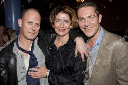 Andrew Woodall, Anna Chancellor and Mark Umbers