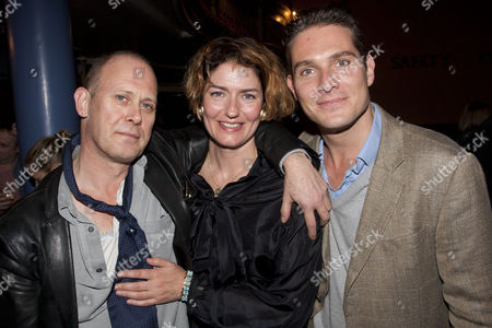 Stock Photo of Andrew Woodall, Anna Chancellor and Mark Umbers