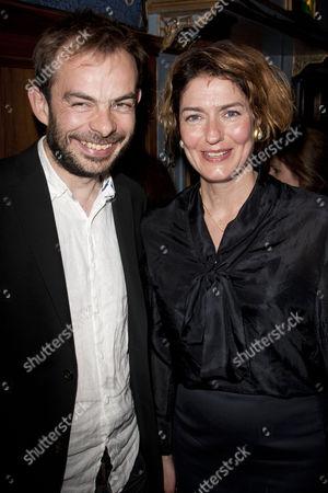 Angus Jackson and Anna Chancellor
