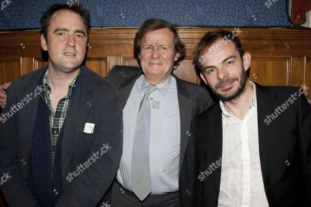 Stock Picture of Jeremy Herrin, David Hare and Angus Jackson