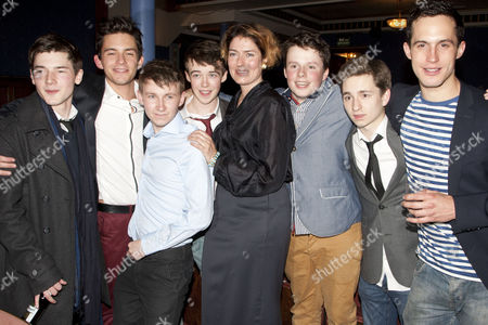 Tom Spink, Jonathan Bailey, Bradley Hall, Alex Lawther, Anna Chancellor, Liam Morton, James Messer and Rob Heaps