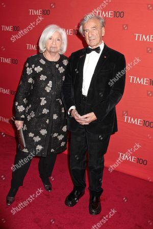 Elie Wiesel and wife Marion Wiesel