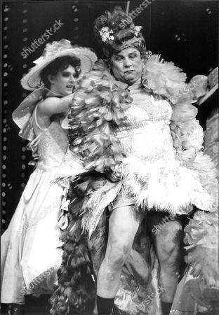 Brian Glover (r) In Theatrical Musical 'la Cage Aux Folles'.