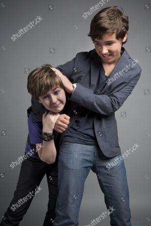 Quinn Lord and Alex Ferris