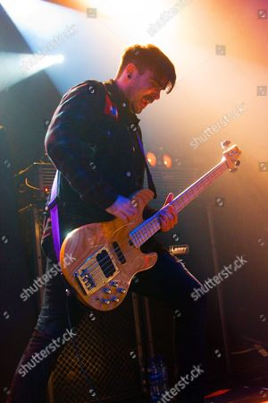 Editorial image of The Jagermeister Music Tour at Bristol O2 Academy, Bristol, Britain - 14 Apr 2012