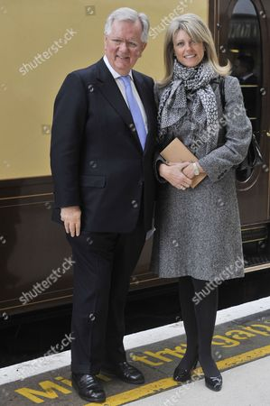Stock Image of Steven Norris and wife Emma Norris