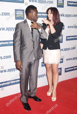 Ortis Deley and Suzi Perry