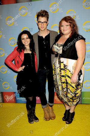 Lindsay Pearce, Cameron Mitchell and Hannah McIaIwain