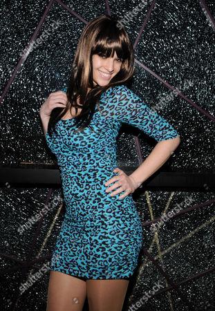 Editorial picture of Erin Bowman at Krave nightclub, Las Vegas, America - 24 Apr 2012