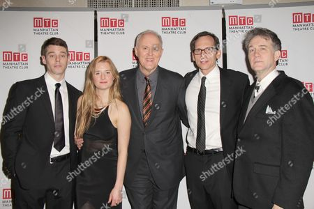 Brian J Smith, Grace Gummer, John Lithgow, Stephen Kunken and Boyd Gaines