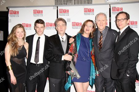 Grace Gummer, Brain J Smith, Boyd Gaines, Margaret Colin, John Lithgow and Stephen Kunken