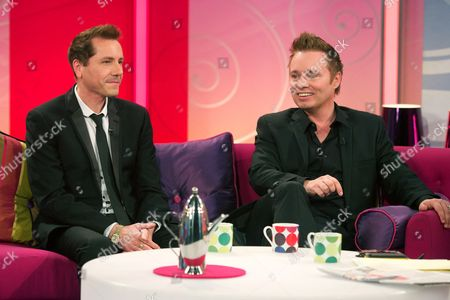 Editorial photo of 'Lorraine Live' TV Programme, London, Britain - 26 Apr 2012