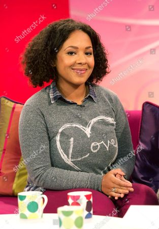 Editorial picture of 'Lorraine Live' TV Programme, London, Britain - 26 Apr 2012