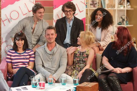 James Atherton, Tom Scurr, Anna Shaffer, Jessica Fox, Ashley Taylor Dawson, Jorgie Porter with Sharon Marshall