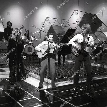 Vicki Brown, Lonnie Donegan and Joe Brown