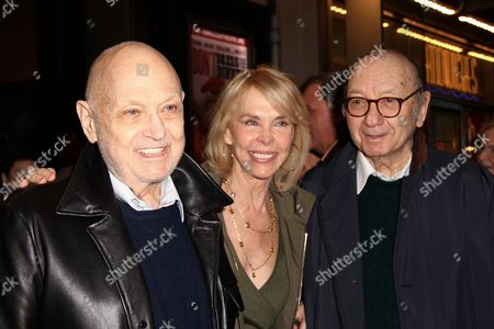 Charles Strouse, Elaine Joyce and Neil Simon