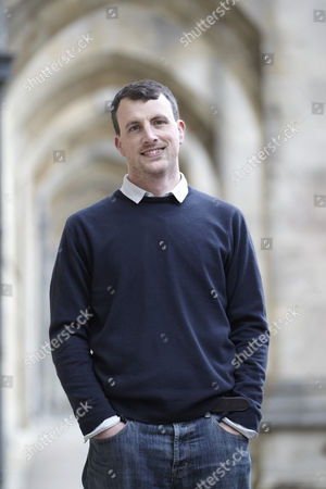 Editorial image of Alex Langlands at Winchester University, Hampshire, Britain - 26 Apr 2012