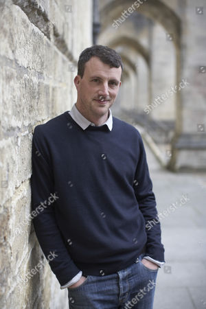 Editorial photo of Alex Langlands at Winchester University, Hampshire, Britain - 26 Apr 2012