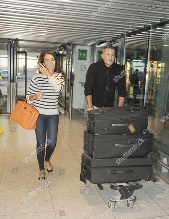 Tamara Ecclestone and boyfriend Omar Khyami
