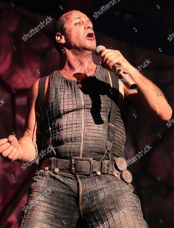 Rammstein lowfire Till Lindemann