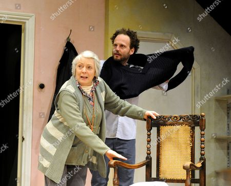 Alison Steadman as Pat, Alex Beckett as Phil