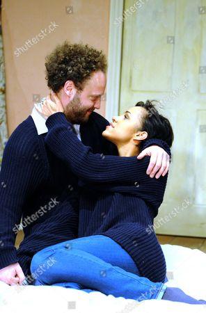 Zawe Ashton as Cath, Alex Beckett as Phil