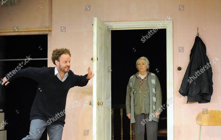 Alex Beckett as Phil, Alison Steadman as Pat