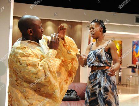 Lucian Msamati as Kayode, Noma Dumezweni as Rita