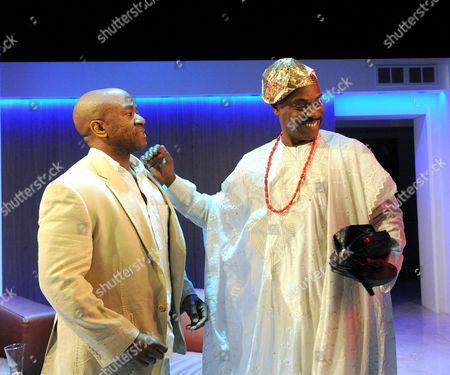 Lucian Msamati as Kayode, Richard Pepple as Chief