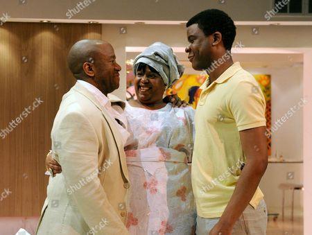 Lucian Msamati as Kayode, Pamela Nomvete as Mama, Ashley Zhangazha as Kunie