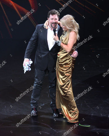 Michael Ball and Gaby Roslin