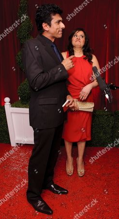 Ace Bhatti and Nina Wadia