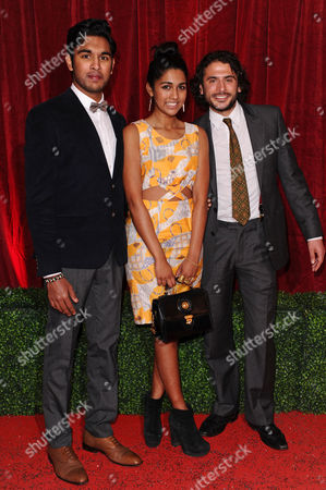 Himesh Patel, Meryl Fernandes and Marc Elliott