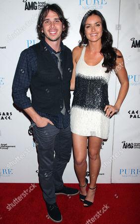 Stock Image of Ben Flajnik and Courtney Robertson
