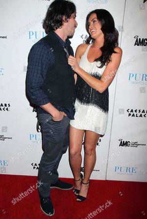 Editorial photo of Ben Flajnik and Courtney Robertson host an evening at Pure Nightclub, Las Vegas, America - 29 Apr 2012