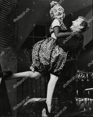 Editorial picture of Avis Bunnage (as Helen) With Nigel Davenport (as Her Fiance Peter) In Taste Of Honey Which Opens On The Wyndhams Theatre