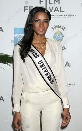 Stock Picture of Miss Universe 2011 Leila Lopez