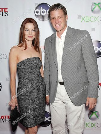 Laura Leighton & Doug Savant
