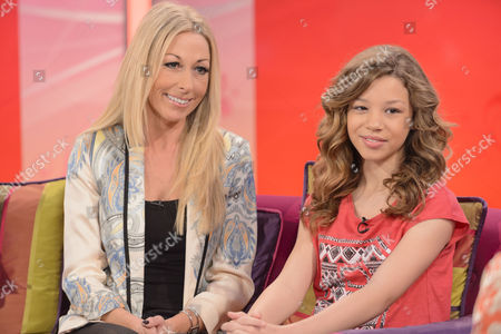 Molly Rainford with her mother
