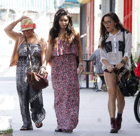 Gina Guangco, Vanessa Hudgens and Stella Hudgens