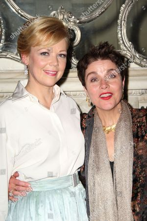 Emily Bergl and Christine Andreas