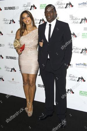 Chantelle Tagoe and Emile Heskey