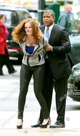 Rebecca Mader and Sharif Atkins