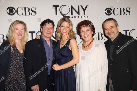 Kathleen Marshall, Michael McGrath, Kelli O'Hara, Judy Kaye and Joe DiPietro