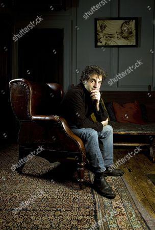 Etgar Keret at Blacks private members club in Dean Street, London.