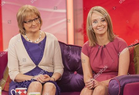 Sarah Scott and mother Joanie.