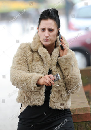 Editorial image of Lauren Socha at Derby Crown Court, Britain - 02 May 2012