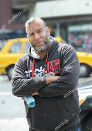 Taxi driver Sakander Iqbal