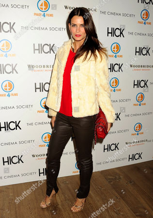 Editorial photo of The Cinema Society host a Screening of 'Hick', New York, America - 03 May 2012