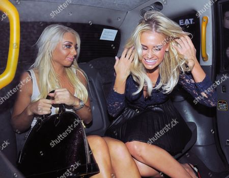 Editorial picture of Chloe Evans out at the Anaya Night Club in London, Britain - 03 May 2012